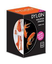 Dylon machine fabric dye – 200g – Goldfish Orange - FREE P&P