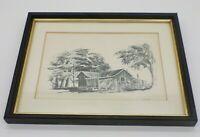 Three Donald B Williams Morro Bay Cayucos Signed Numbered Drawings Print Artwork