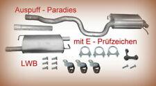 + Kit 96KW - 128KW Abgasanlage Auspuff VW T5  2.5 TDi Bus /& Kastenaufbau SWB