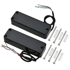 Electric Bass 4 String Guitar Pickups Humbucker Double Coil Bridge and Neck Set