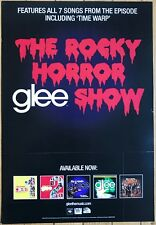 Glee Rocky Horror Promo Poster 6/22/10 11x17 Excellent Condition