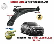FOR PEUGEOT 4008 1.6 1.8 HDI 2.0 2012> FRONT RIGHT LOWER WISHBONE SUSPENSION ARM