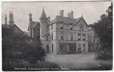 RHYL - Women's Convalescent Home - by J A Hoffman - Wales - c1920s era postcard