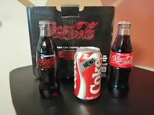 Stranger Things New Coke Coca Cola 1 can 2 bottles Limited Edition Collectors