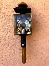 n°5) ancienne lampe de calèche  /  lanterne à bougie / vintage  FIACRE