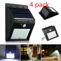 Waterproof Solar Power 20 LED Wall Light PIR Motion Sensor Outdoor Garden Lamp