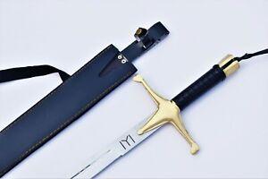 Ertugrul Ghazi Sword Resurrection Handmade Islamic Sword with Leather Sheath.