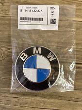 Genuine BMW Front Hood 82mm Emblem Sign Badge Logo 1 3 5 6 7 X1 X3 X5 X6 Z3