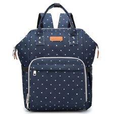 Large Capacity Mummy Nursing Bag Baby Nappy Diaper Bag Maternity Travel Backpack