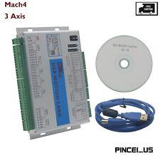 Cnc Mach4 Usb 3 Axis Motion Control Card For Machine Centre