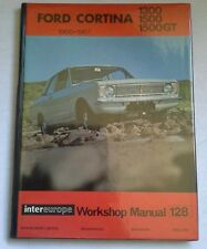 FORD CORTINA 1300, 1500, 1500GT 1966-67 INTEREUROPE WORKSHOP MANUAL