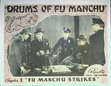 Drums of Fu Manchu Chapter 1 Lobby Card 1940 Scarce!