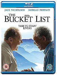 The Bucket List dvd Jack Nicholson Morgan Freeman Cert 12