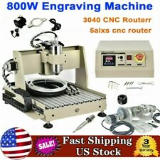 Usb 5axis 3040t Cnc Router 3d Cutter Engraver Engraving Drilling Milling Machine