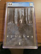 Wytches #1🔥🔥 CGC 9.4 ~ OPTIONED! Scott Snyder story~Jock cover