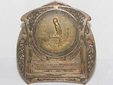 08E23 MÉDAILLE BRONZE TROPHEE CONCOURS SERIN SERINICULTEURS DE BRUXELLES 1933