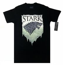 Game Of Thrones STARK SIGIL TORN BANNER DIREWOLF T-Shirt NWT Licensed & Official