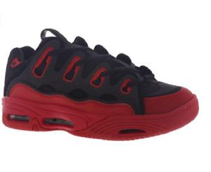 OSIRIS 11412789 D3 2001 Mn`s (M) Black/Red/Gum Textile/Mesh Skate Shoes