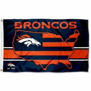3x5 Foot Denver Broncos USA Country Flag
