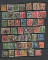 49 anciens timbres USA