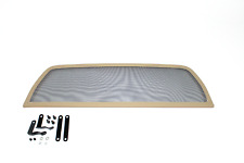 Filet Anti Remous  / Windschott / Coupe vent BEIGE - TRIUMPH TR4 TR5 TR6 64-76