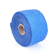 Blue 5m Exhaust Heat Wrap Turbo Pipe Heat Insulated Wrap for Car Motorcycle JR