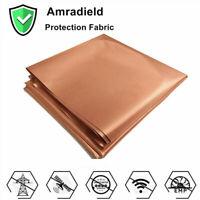 EMF Protection Pure Copper Fabric-Blocking RFID Radiation Singal Wifi EMI EMP RF