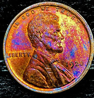 "1920 P Lincoln Wheat Penny Cent- ""Beautiful Toning"" SUPERB GEM HIGH GRADE #00"