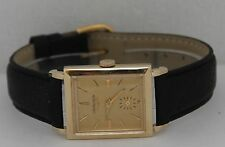 Vintage Longines Hand-Winding 14K Yellow Gold Circa 1950s