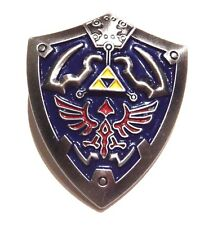 LEGEND OF ZELDA Hylian Crest Shield lapel pin button brooch Link Hyrule 2W