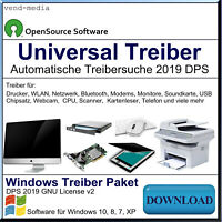 Treiber Software 2019 für PC, Laptop, Notebook, ESD= Download,Windows 10,8,7,XP