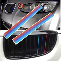 2 X Grille Grill CALANDRE vinyle bande autocollant pour BMW E36 E46 E60 E39 M3