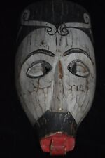 "SALE!! DAYAK SHAMAN MASK EARLY 1900S 16"" M. SIMPSON ESTATE"