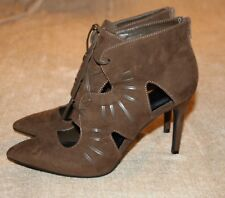 MARKS AND SPENCER FAUX SUEDE 'INSOLIA SHOES  - IN UK SIZE 6 1/2 - NEW WITH TAGS