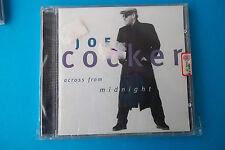 "JOE COCKER "" ACROSS FROM MIDNIGHT "" CD 1997 PARLOPHONE NUOVO SIGILLATO"