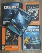 Lote Juegos De Guerra. PC Español. Submarine Titans, Cold War, Silencio Hunter 3