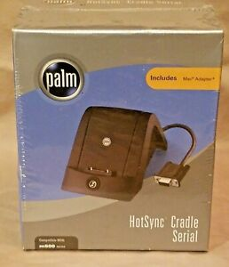Palm HotSync Cradle Serial  M500 Series. Includes Mac Adapter. New in Box