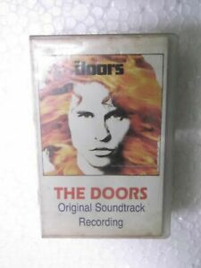 THE DOORS ROAD HOUSE MOVIE 1991 RARE orig CASSETTE TAPE INDIA indian