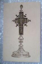 Postcard- Belgium Kerk van O L Vrouw der Potterie- Kruis relikwie / Cross Relic