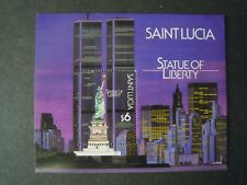 SAINT LUCIA CENTENARY OF THE STATUE OF LIBERTY MS. SG. MS.918 MNH