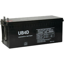 UPG 12V 200Ah 4D SLA AGM Battery Replacement for Sail Boats