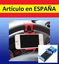 PINZA SUJECION VOLANTE MOVIL smartphone MOTO gps BICI luz coche soporte iphone A