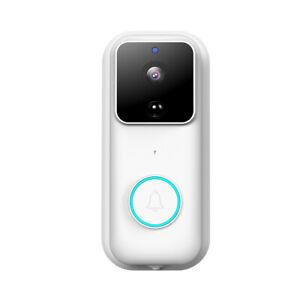 WiFi Door Bell Wireless Video Camera Smart Home Monitor Doorbell Two-Way Talk