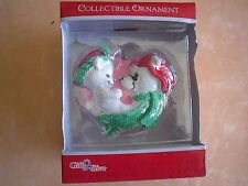 GIFT TO GIVE COLLECTABLE CHRISTMAS ORNAMENT Bear Family Mom & Baby