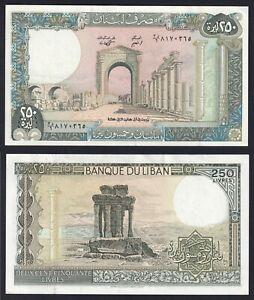 Libano 250  livres 1978 (88) FDS-/UNC-  B-10