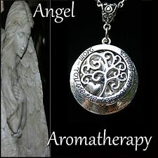 Essential Oil Diffuser Mom Heart Locket Necklace Aromatherapy U.S. Seller
