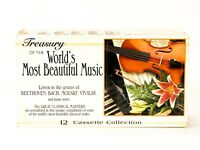 Treasury Of The Worlds Most Beautiful Music 12 Cassette Collection 1996