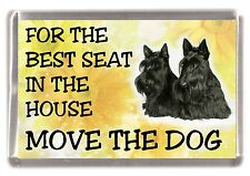 "Scottish Terrier / Scottie Fridge Magnet  ""For the Best Seat......"" by Starprint"