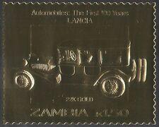 ZAMBIA ORO LANCIA/Auto/AUTOMOBILISMO/Trasporto/motori/auto d'epoca/vintage 1 V s6227