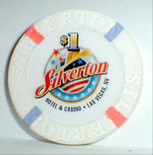 $1 Chip Silverton Casino Las Vegas Nevada 1997-Current Plus info+Casino History